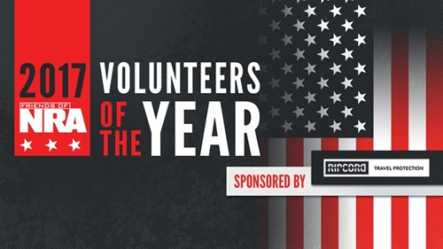 2017 Friends of NRA Volunteers of the Year